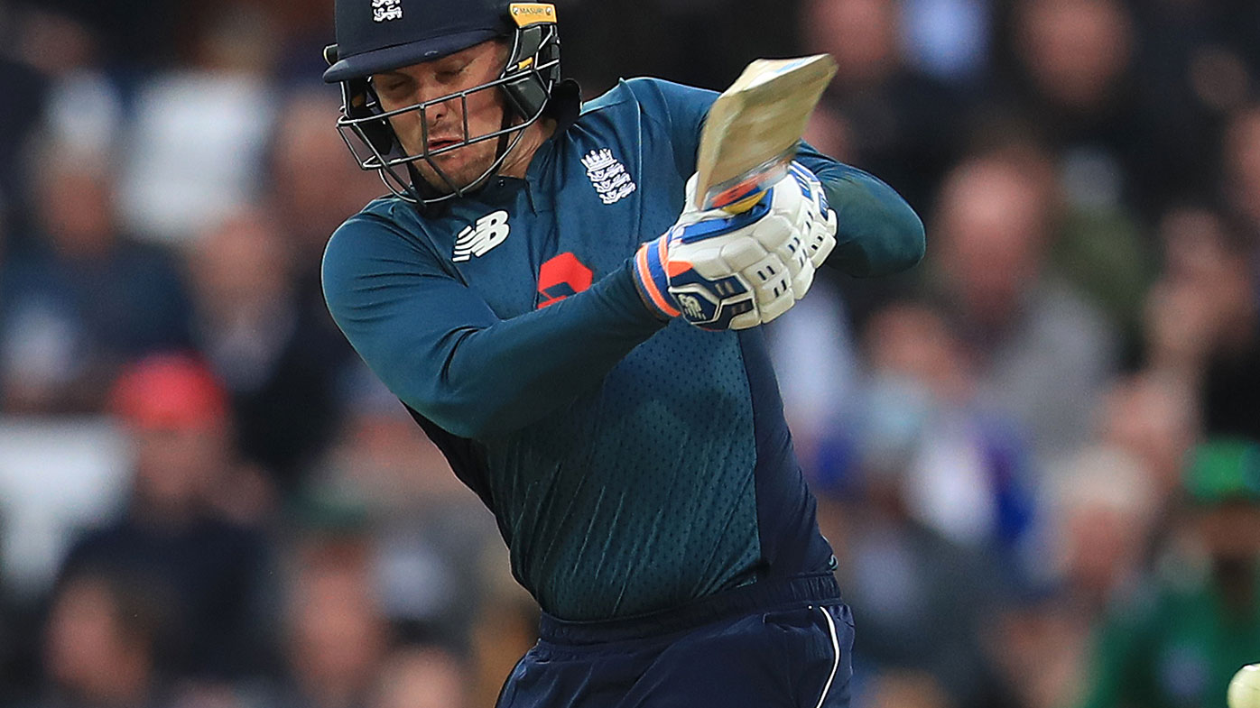 England opener Jason Roy made a century at Trent Bridge.