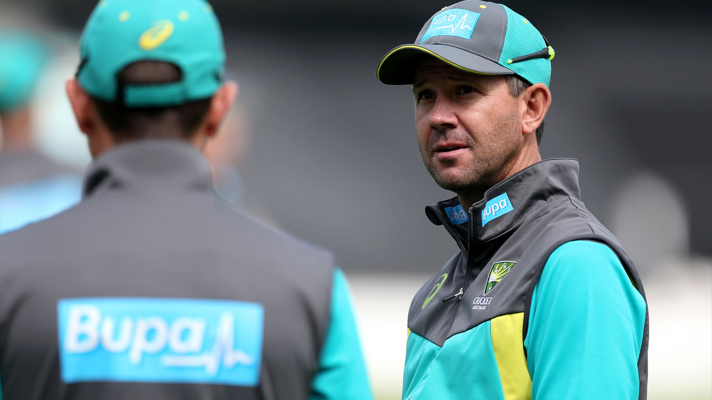 Former captain Ponting named assistant Australia coach