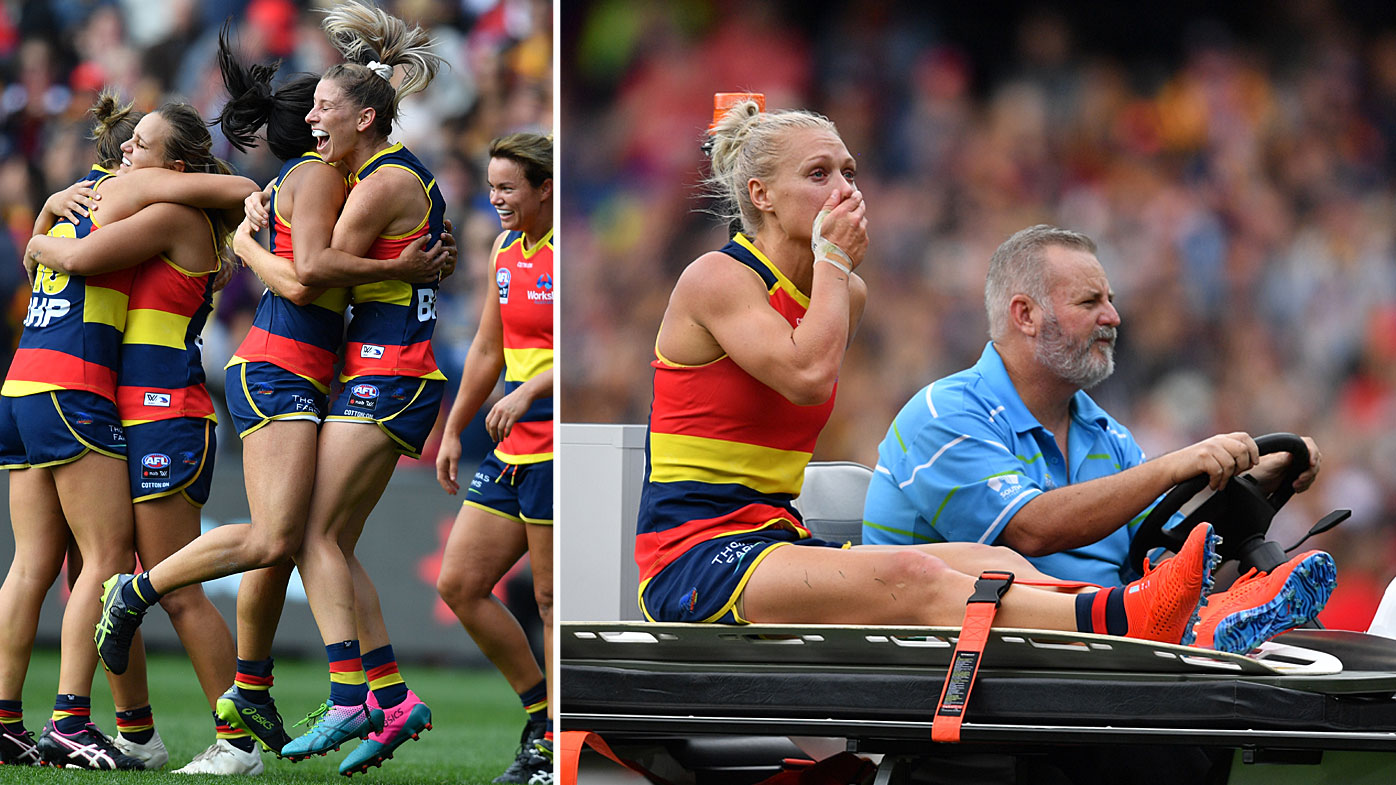 Adelaide Crows AFLW grand final