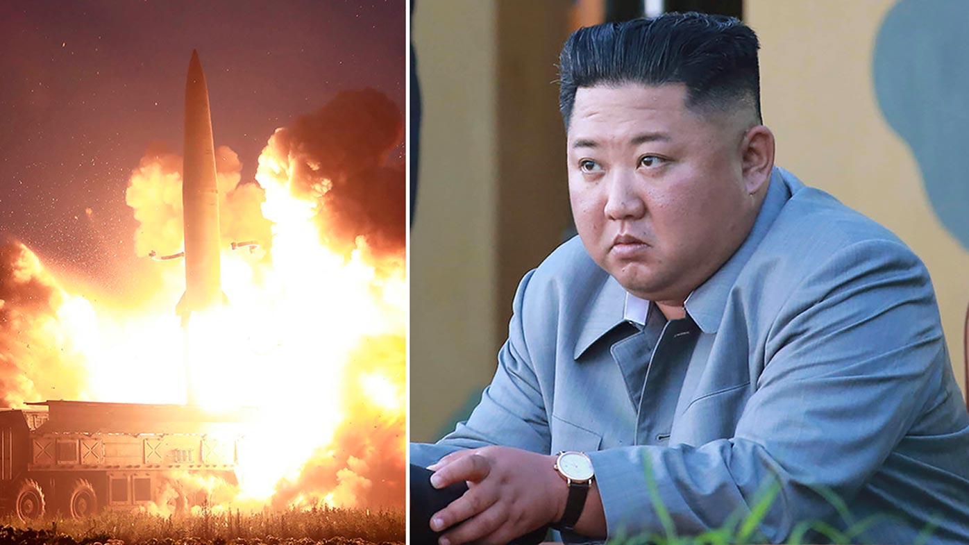 North Korea news: Rogue state fires two missiles into sea in likely