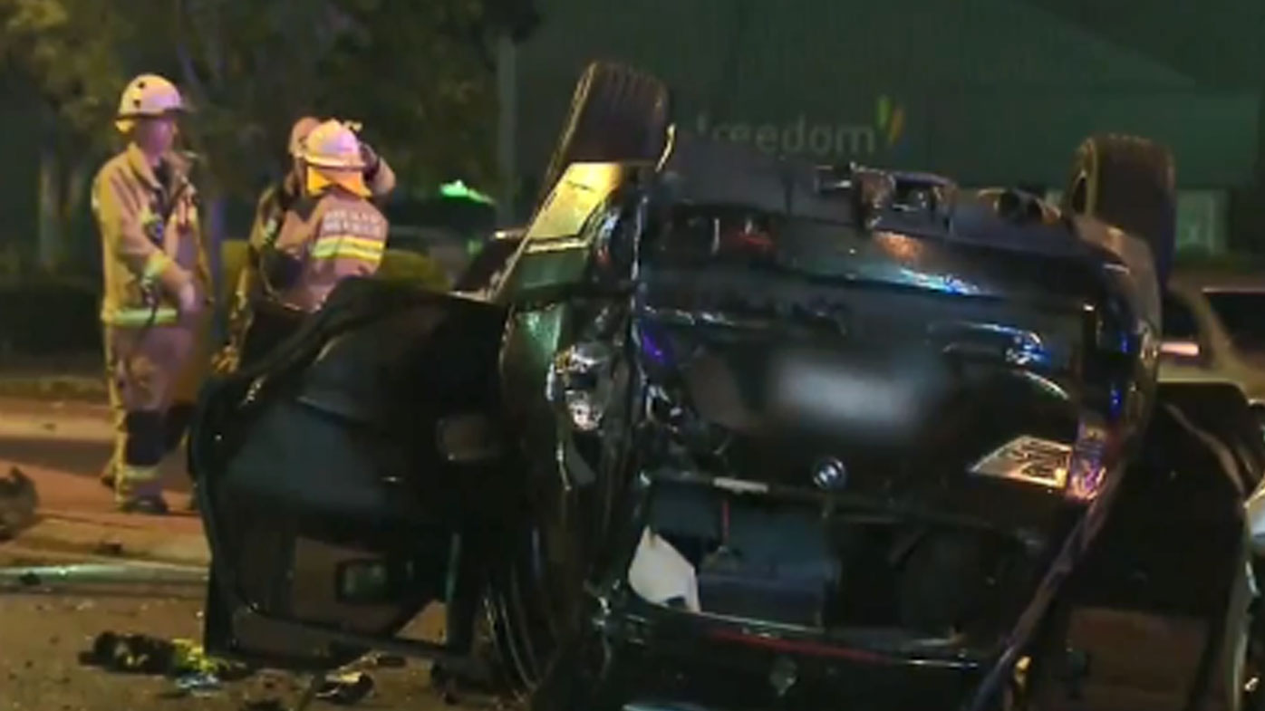 Two dead after multi-vehicle crash