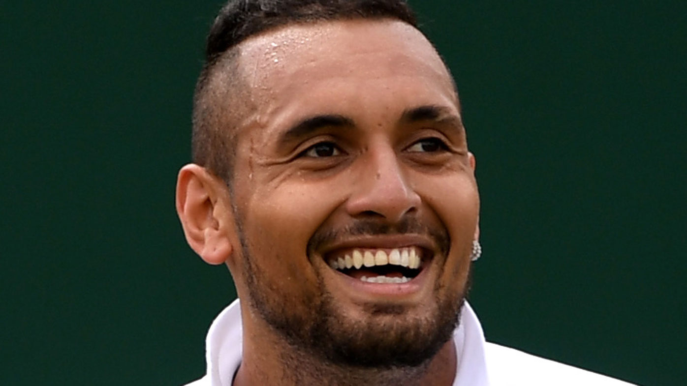 Nick Kyrgios 'wanted to hit' Rafael Nadal at Wimbledon