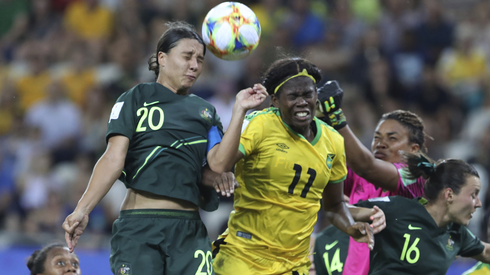 Kerr unaware fourth goal meant Australian progress Women's World Cup 2019