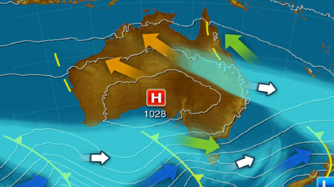 Weather forecast: Melbourne, severe weather warning as cold front