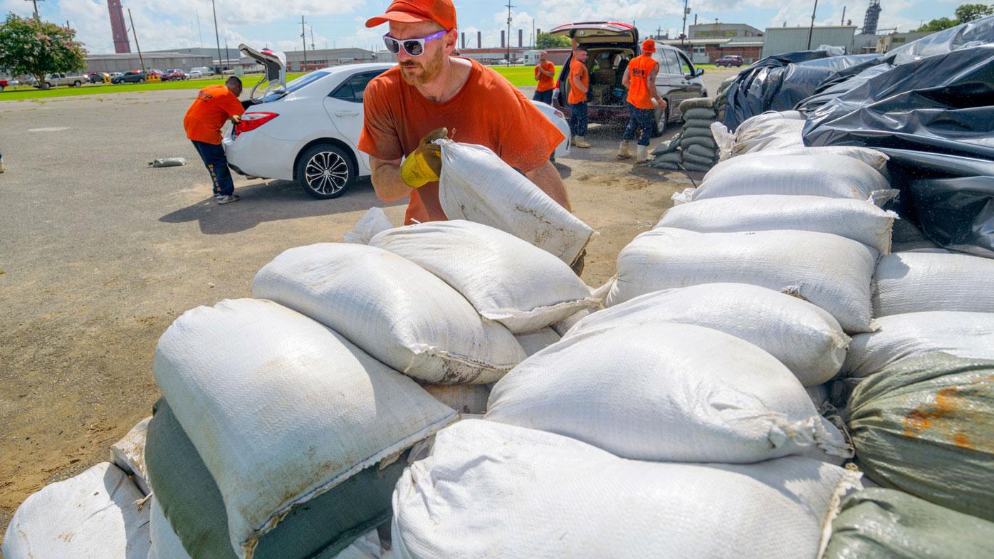 'Entire Louisiana coast' in path of predicated hurricane