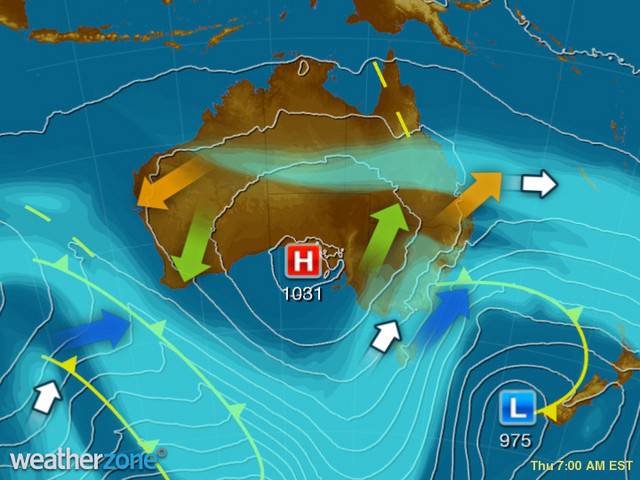 Wild weather to smash eastern Australia as cold front passes