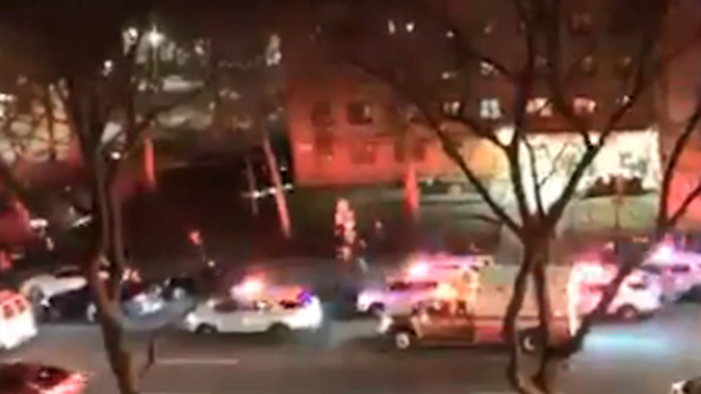 Reports at least three shot in New York