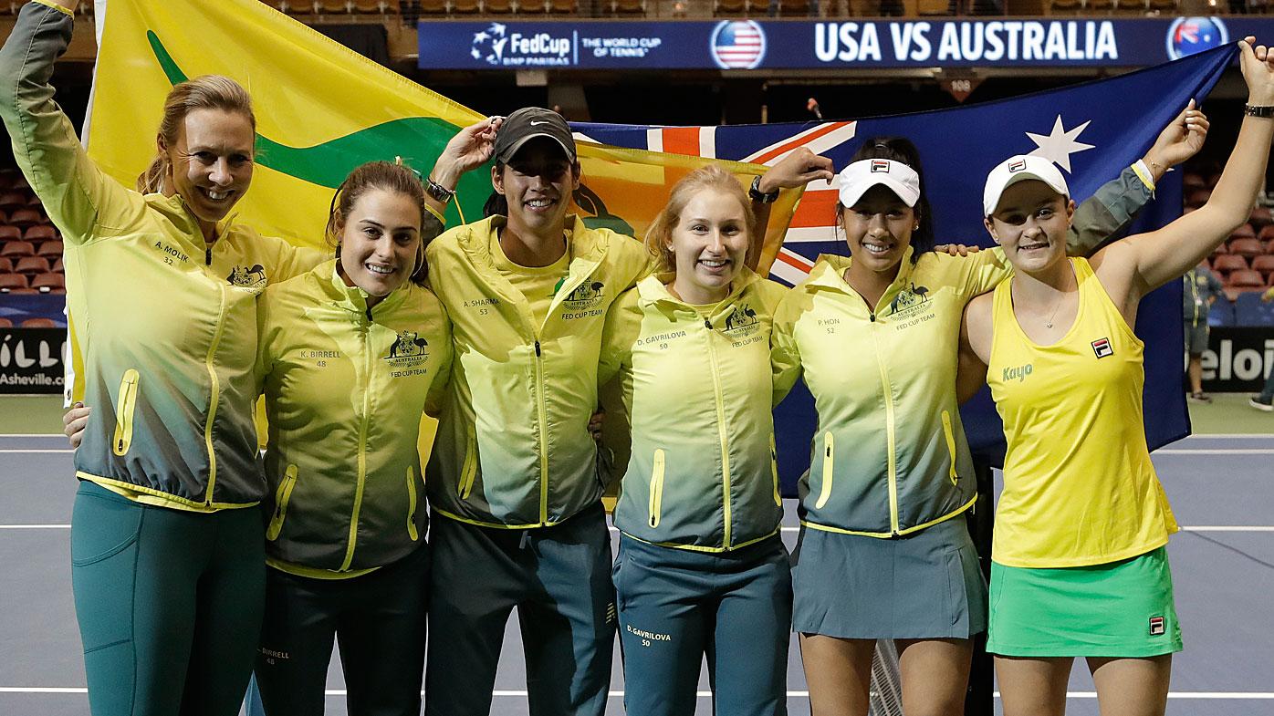 Australia's Fed Cup team