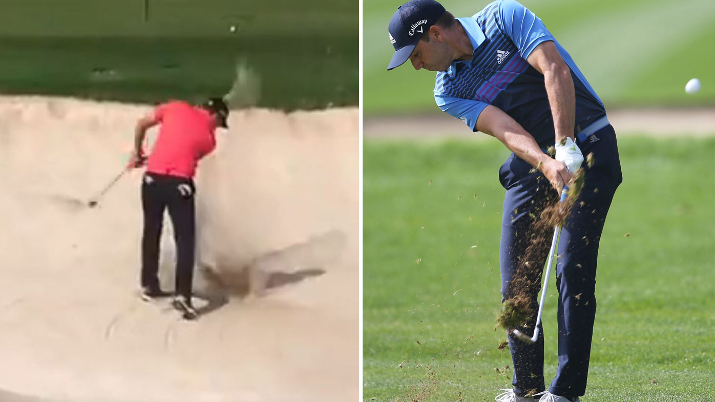Sergio Garcia Has A Temper Tantrum During Saudi International Tournament