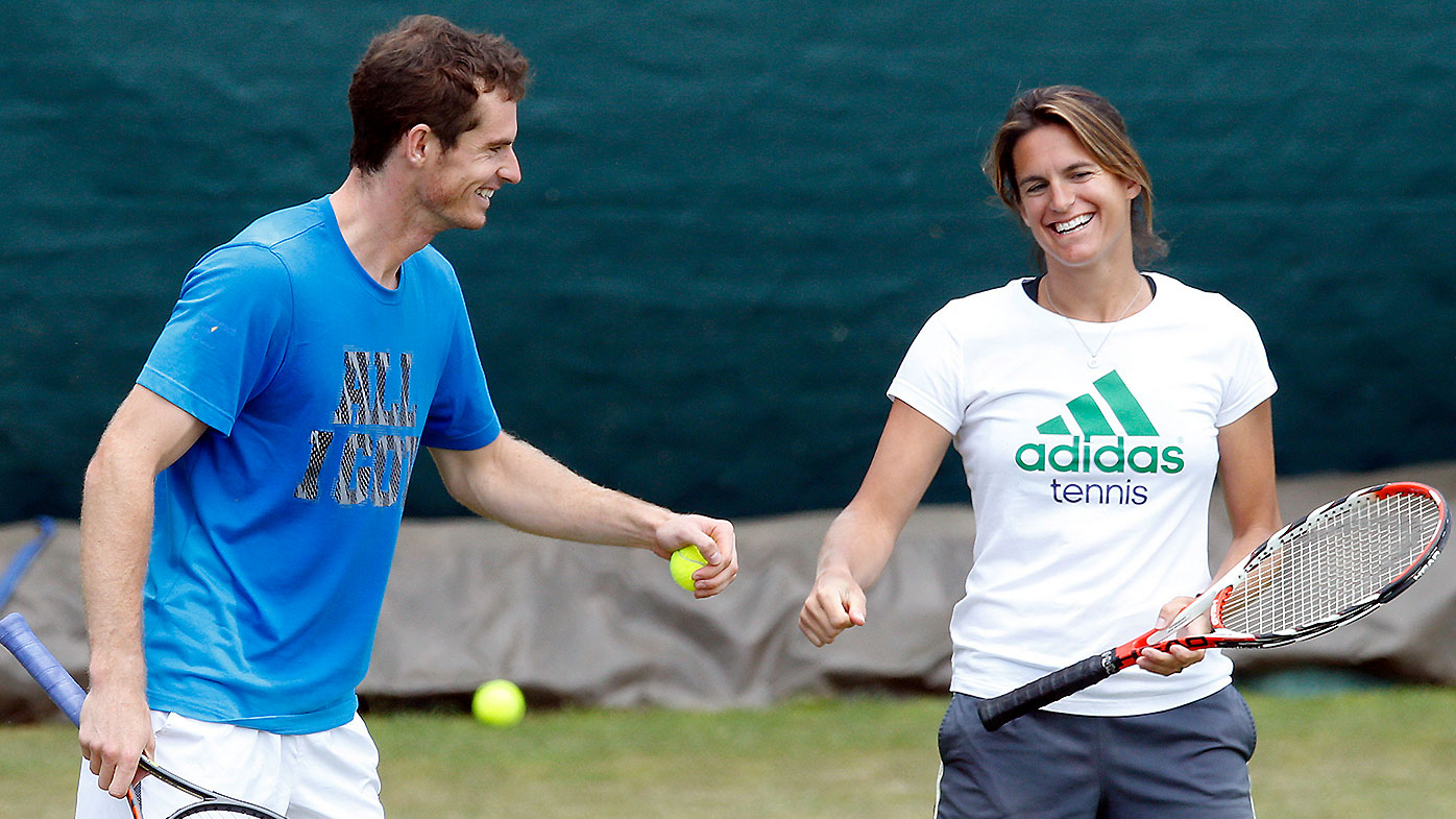 Andy Murray Amelie Mauresmo