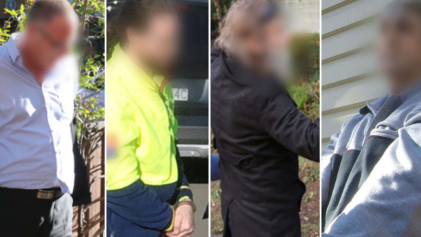 Child sex abuse Five Sydney men charged with allegedly grooming