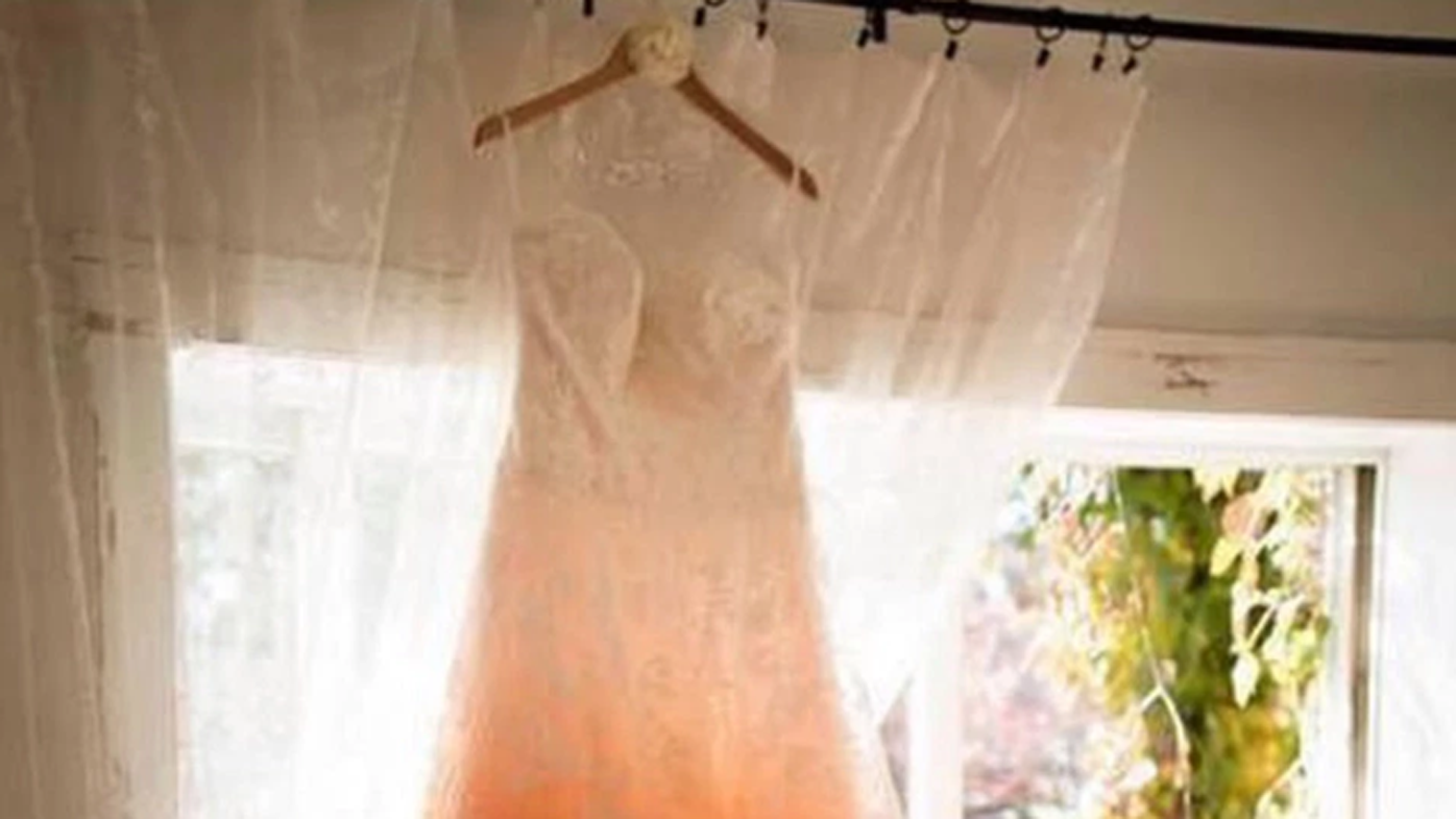 A Wedding Dress That Resembles A Swap Sends The Internet Into