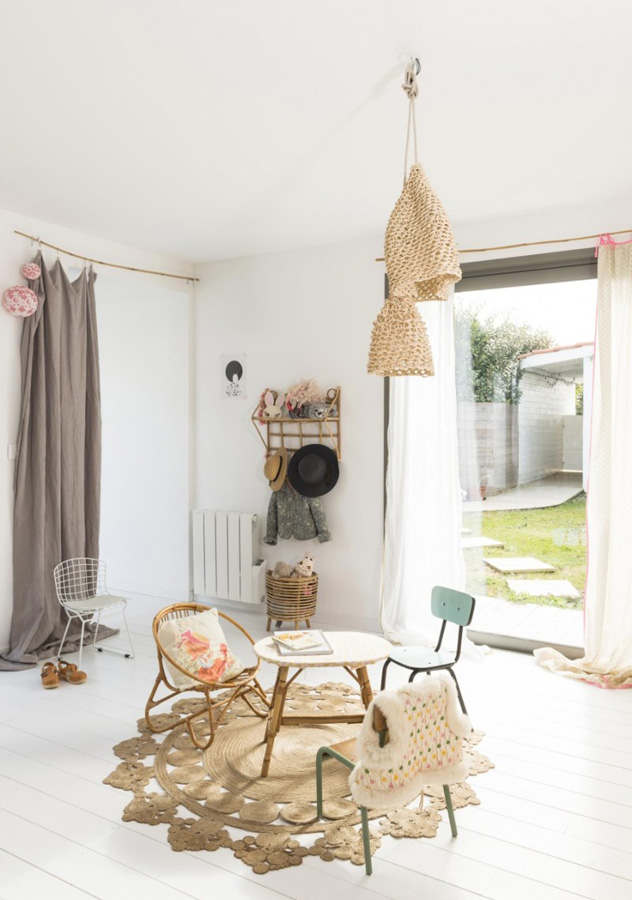 This is how to create a laid back bohemian kid 39 s room - Suspension chambre d enfant ...
