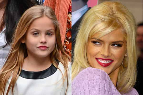 Anna Nicole Smith's daughter Dannielynn looks just like her! Father ...
