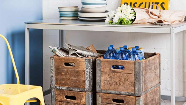 Super storage and decluttering ideas 9homes for Recycling organization ideas