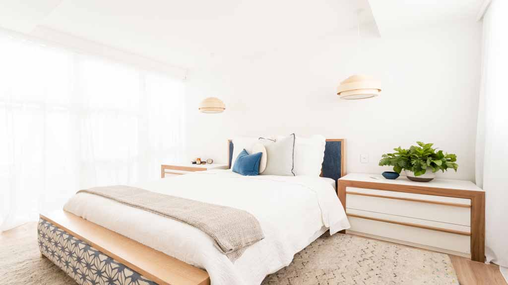 The Block Triple Threat Room Reveals Guest Bedroom Ayden And Jess - The block bedroom designs