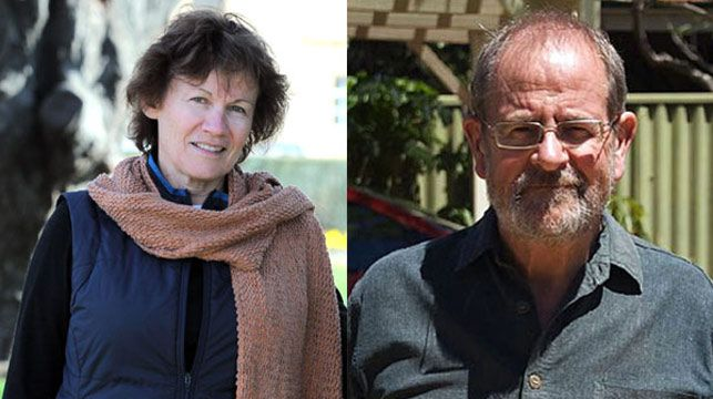 Victims Delys Weston, 62, and Gavin Mooney, 69.