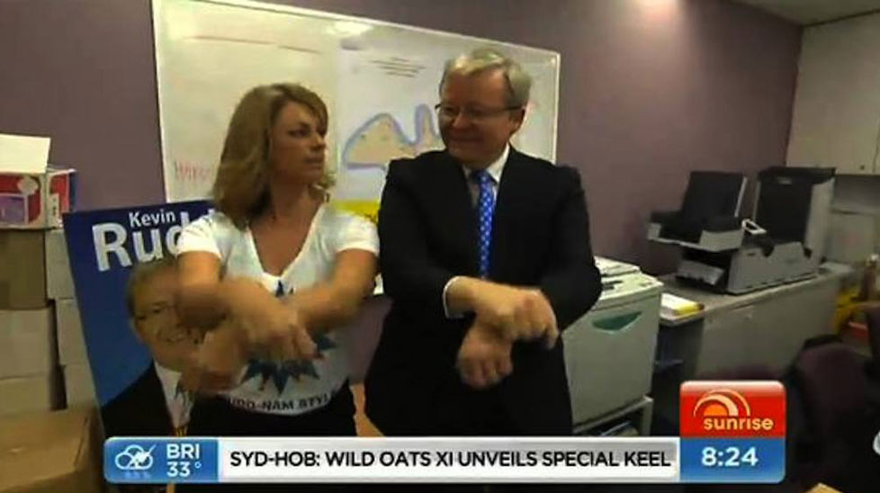 Kevin Rudd's cringe-worthy Gangnam Style attempt is one of hundreds of imitations.