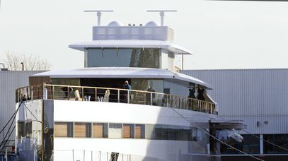 Steve Jobs' superyacht, Venus.