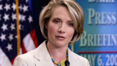 Then-White House Press Secretary Dana Perino. (AAP)