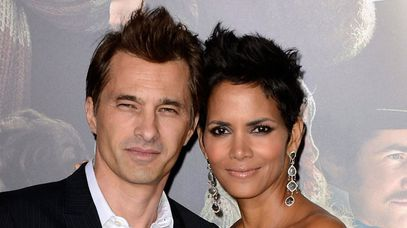 Olivier Martinez and Halle Berry. (AAP)
