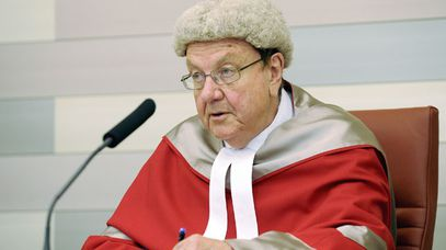 Justice Anthony Whealy in 2008. (AAP)