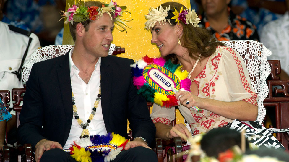 The Duke and Duchess of Cambridge are touring the South Pacific and Far East for the Queen's Diamond Jubilee.