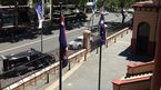 Police siege outside NSW Parliament