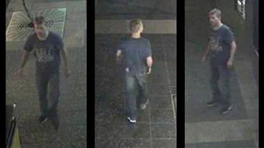 Queensland police believe this man can help the with their inquiries into a Brisbane CBD bashing which left a man in critical condition. (Qld Police)