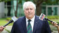 'All I can say is I like chips' - Clive Palmer admits that he is 'a bogan' (AAP).