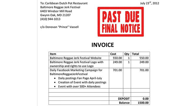 A screengrab from the Caribbean Dutch Pot Restaurant homepage.