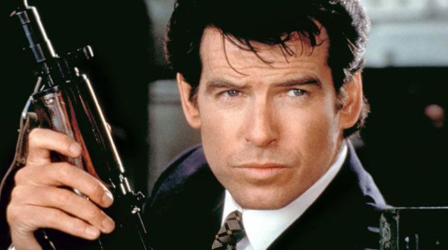 Pierce Brosnan as James Bond. (AAP)