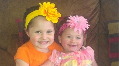 Police say Lylah (right) may not have survived without the help of her sister. (Facebook)
