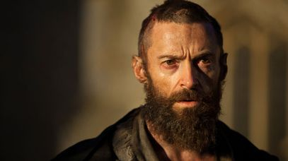 "Hugh Jackman as Jean Valjean in a scene from the motion-picture adaptation of ""Les Misérables."" (AAP)"