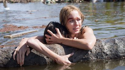 "Naomi Watts in a scene from ""The Impossible."" (AAP)"