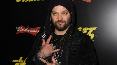 Bam Margera in Los Angeles last week. (Getty)