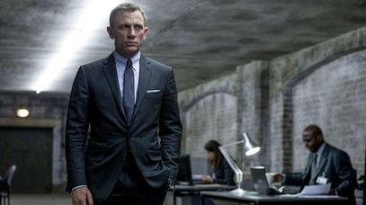 Daniel Craig as James Bond in Skyfall. (AAP)