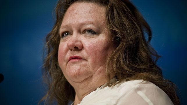 Gina Rinehart is the top-ranked Aussie on Forbes' 2013 list of billionaires with an estimated fortune of $17 billion. (AAP)