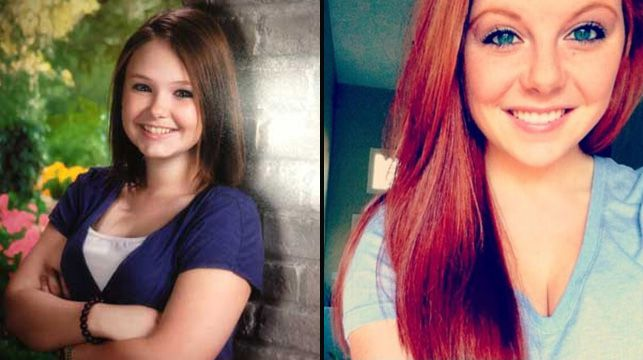 Victim Skylar Neese (left) and her friend Rachel Shoaf, who has pleaded guilty to murdering her.