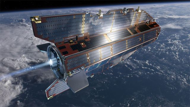 Gravity Field and Steady-State Ocean Circulation Explorer (GOCE) satellite (ESA)