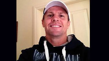Paul Darren Mulvihill in a selfie he took after posting his $800,000 bail f
