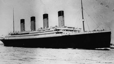The ill-fated White Star liner RMS Titanic. (Getty)