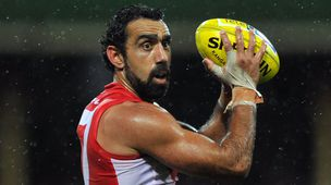 Sydney Swans player Adam Goodes. (AAP)