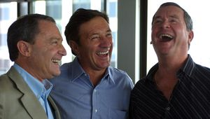 Industry heavy weights: (from left to right) former Today host Steve Liebmann, Ken Sutcliffe and Ian Ross (AAP).