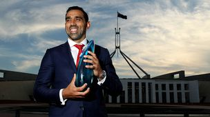 Australian of the Year Adam Goodes. (Getty)