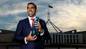 Australian of the Year Adam Goodes. (Getty)