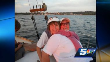 """The Barbaras"", a lesbian couple of 21 years, claim their town has tried to drive them out. (WPTZ News)"