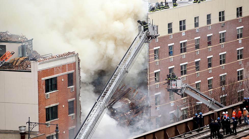 Gas leak levels NYC residential buildings