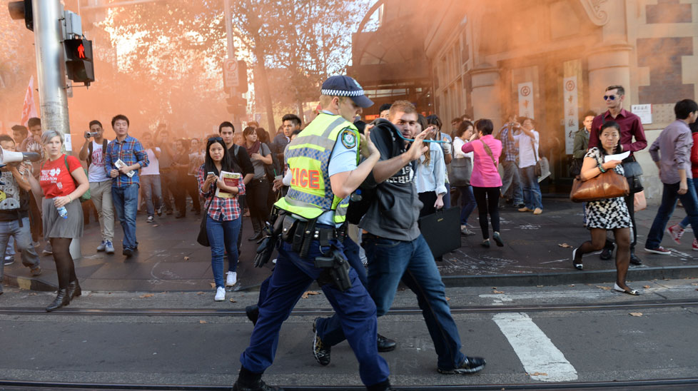 Student protests erupt across Australia