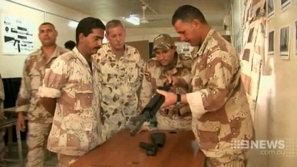 The troops will help train the Iraqi security forces. (9NEWS)